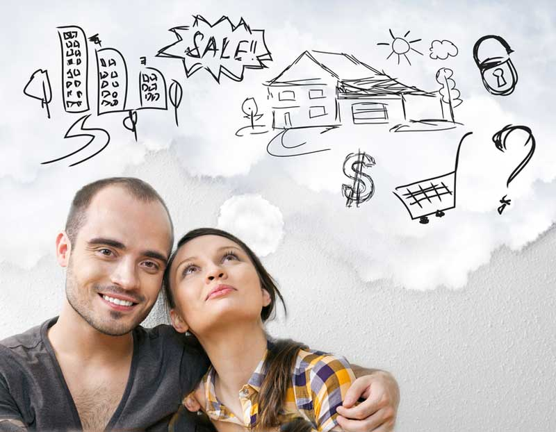 Couple thinking of investing property