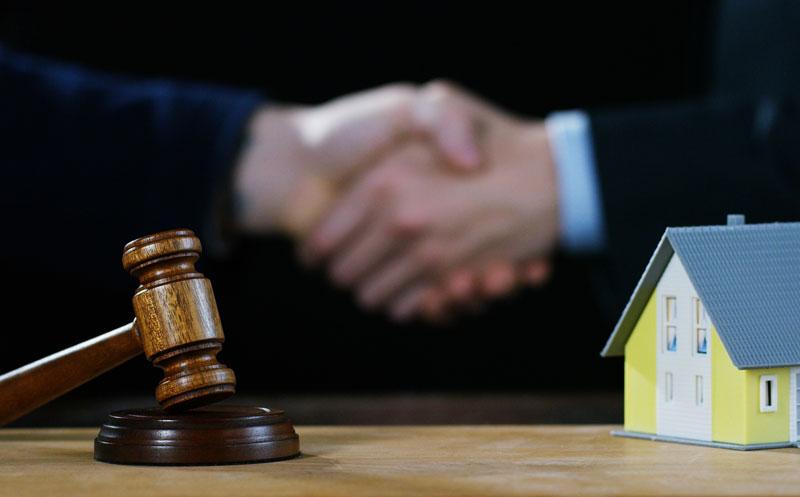 successful bid on a house
