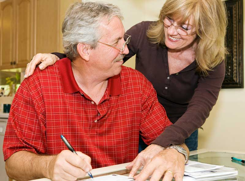 couple paid home loan faster