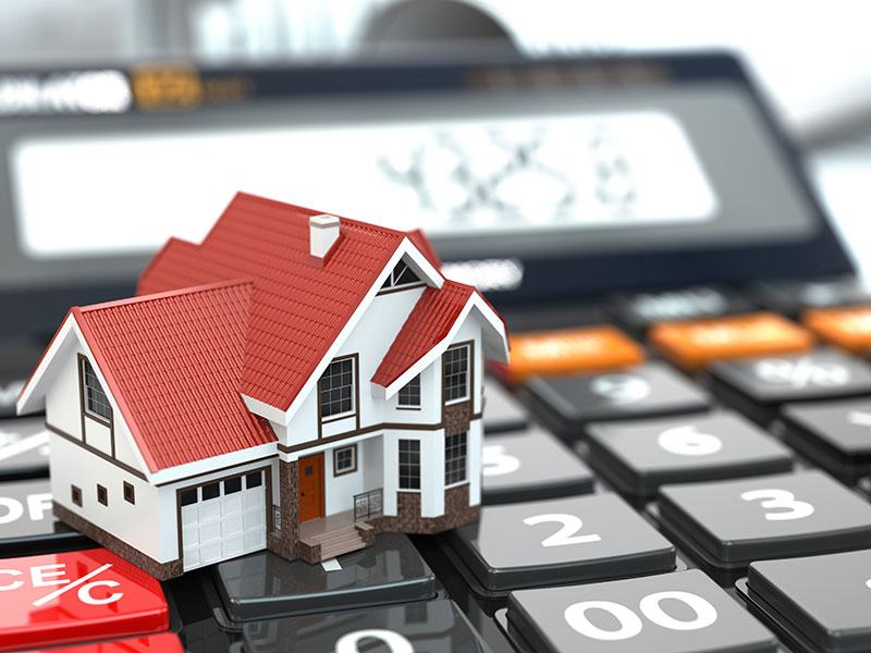 Closed up of a house miniature and that represents additional repayments and financial plan.